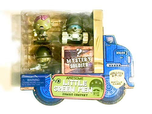 Awesome Little Green Men 4 pc Starter Pack Series 2- Zombie Company Action Figure