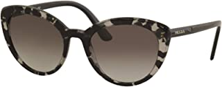 Prada Women's SPR02V SPR/02/V 528/0A7 Grey Havana Cat Eye Sunglasses 54mm