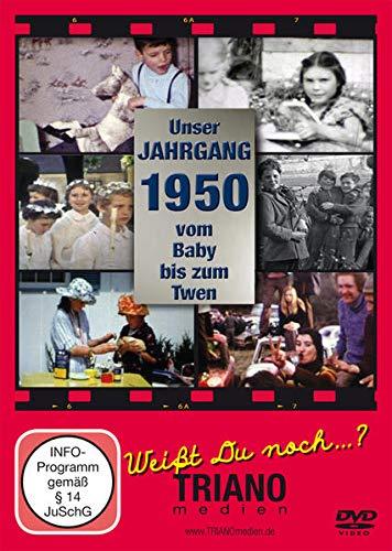 Unser Jahrgang 1950 - Vom Baby bis zum Twen: zum 71. Geburtstag