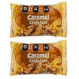 Brachs Fall Flavors Caramel Candy Corn 12 Ounce Bag, 2 Pack Bundle