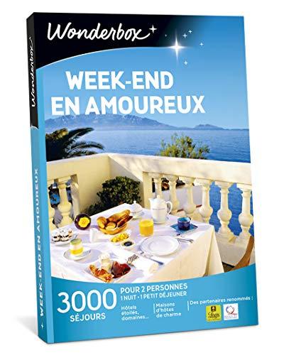 Wonderbox - Coffret cadeau couple - WEEK-END EN AMOUREUX -...