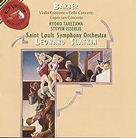 Barber: Violin Concerto / Cello Concerto / Capricorn Concerto (2004-09-22)