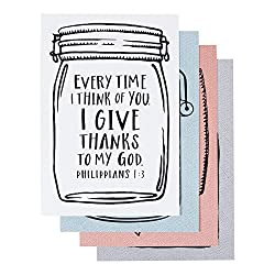 jar thank you care with every time I think of you verse