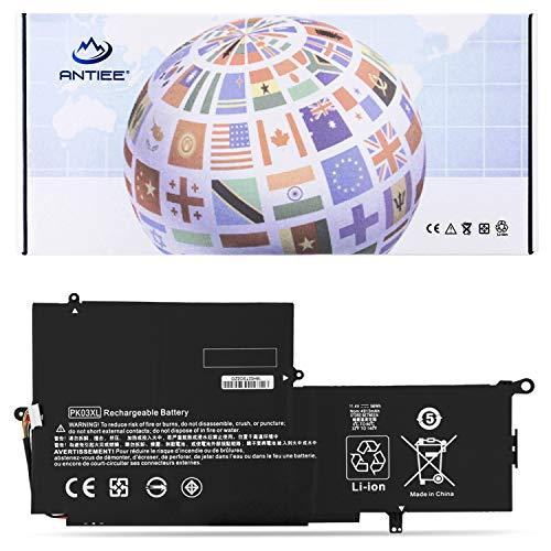 "ANTIEE 56WH PK03XL Batteria per HP Spectre Pro X360 G1 G2 13"" 13-4000 13-4100 13-4200 13-4000nf 13-4006tu 3-4101dx 13-4103dx 13-4002dx 13-4003dx Laptop HSTNN-DB6S 789116-005 788237-2C1 TPN-Q157 11.4V"