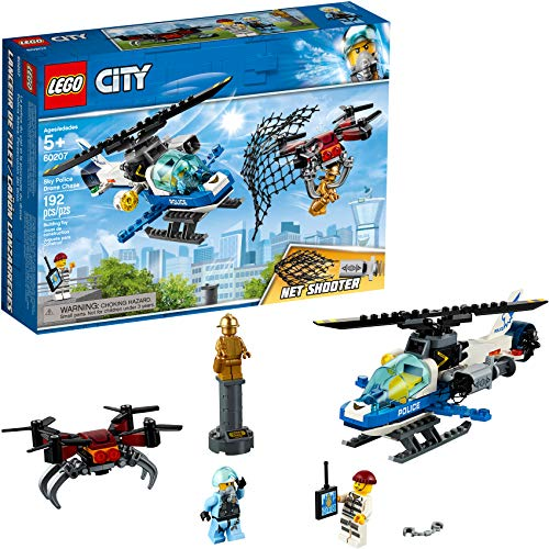 LEGO City Sky Police Drone Chase