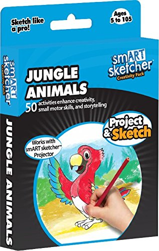 smART sketcher - SD Pack - Jungle Animals