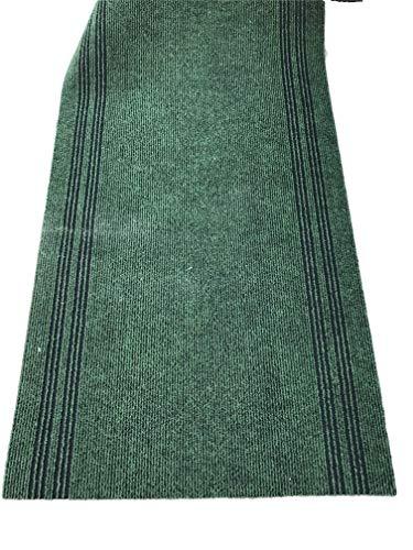 LaVelaHOME deurmat metergoed groen heeft 90 cm hars