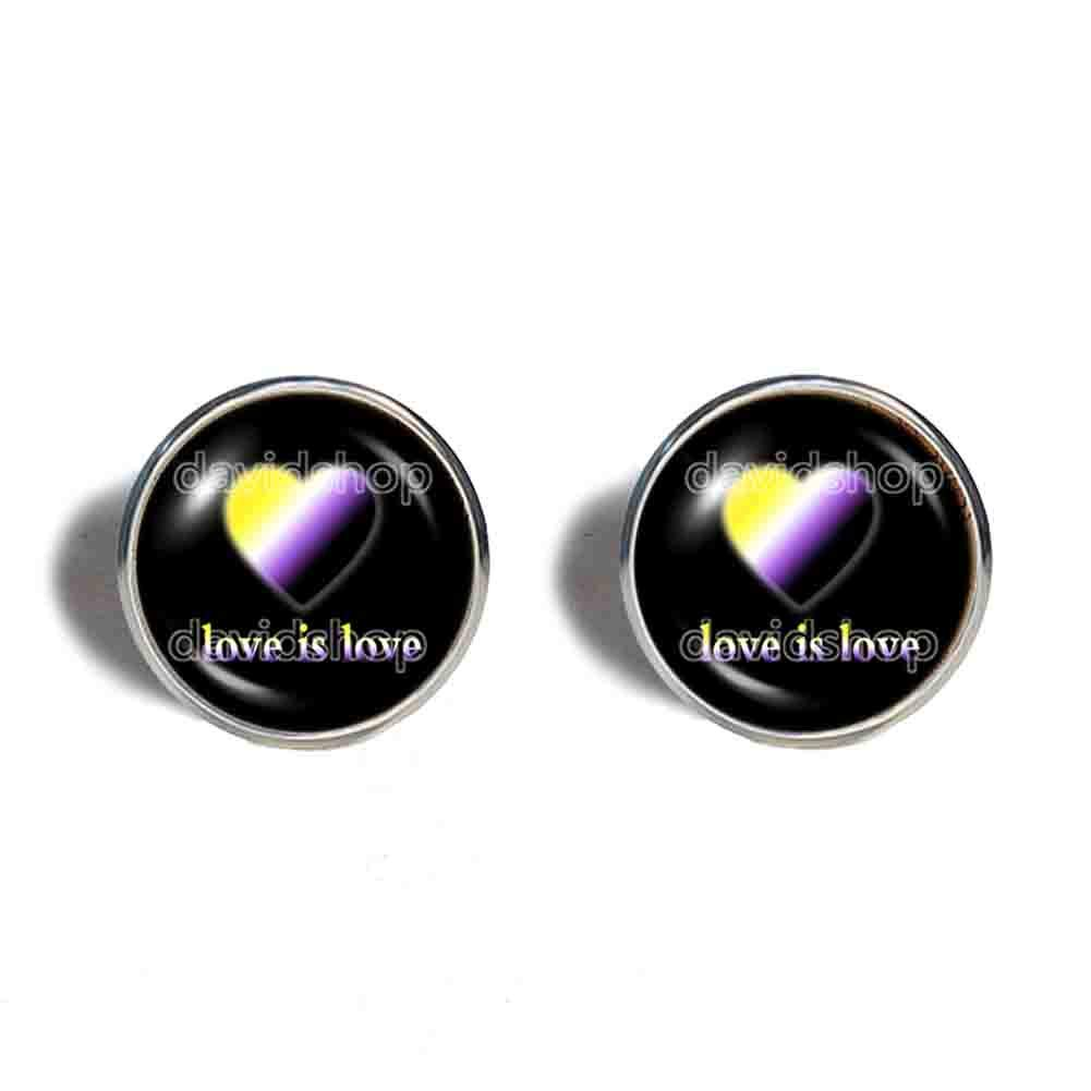 Love Ranking integrated 1st place Is Non Binary Pride Earrings Ear Cuff Ranking TOP13 Fashion Jewelry