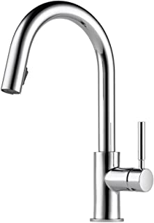 Brizo 63020LF-PC Solna Kitchen Faucet with Pullout Spray, Chrome