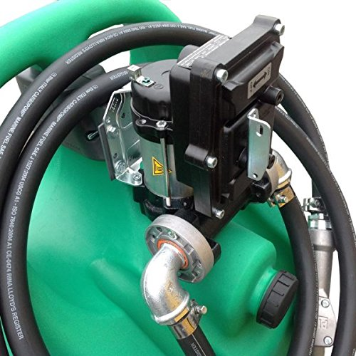 Emilcaddy 110L Benzin autom. Pumpe 12V (ATEX) autom. Pistole (ATEX) und 3m Schlauch (antist.) ADR-Zulassung