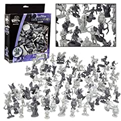 NEW Expanded Variety Since Nov 2019: Includes 4 New Variations for Less Duplicates! Now with 14 different figures! Fantasy creatures action figure set - 98 pcs in total Toy collection features dragons, elf warriors, centaurs, orcs, skeletons, and mor...
