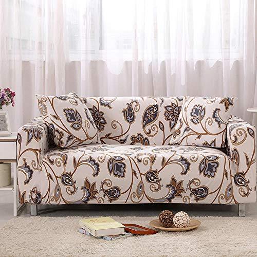 ArtezXX bankovertrek, elastisch, modern, bedrukt, complete hoes voor banken met 1/2/3/4 zitplaatsen