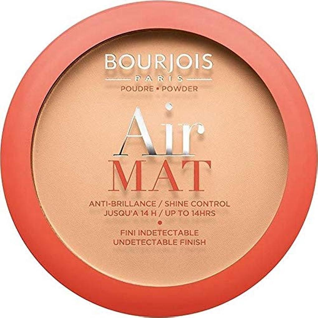 闘争測定可能西部[Bourjois ] ブルジョワエアーマットは、粉末を押す - アプリコットベージュ - Bourjois Air Mat Pressed Powder - Apricot Beige [並行輸入品]