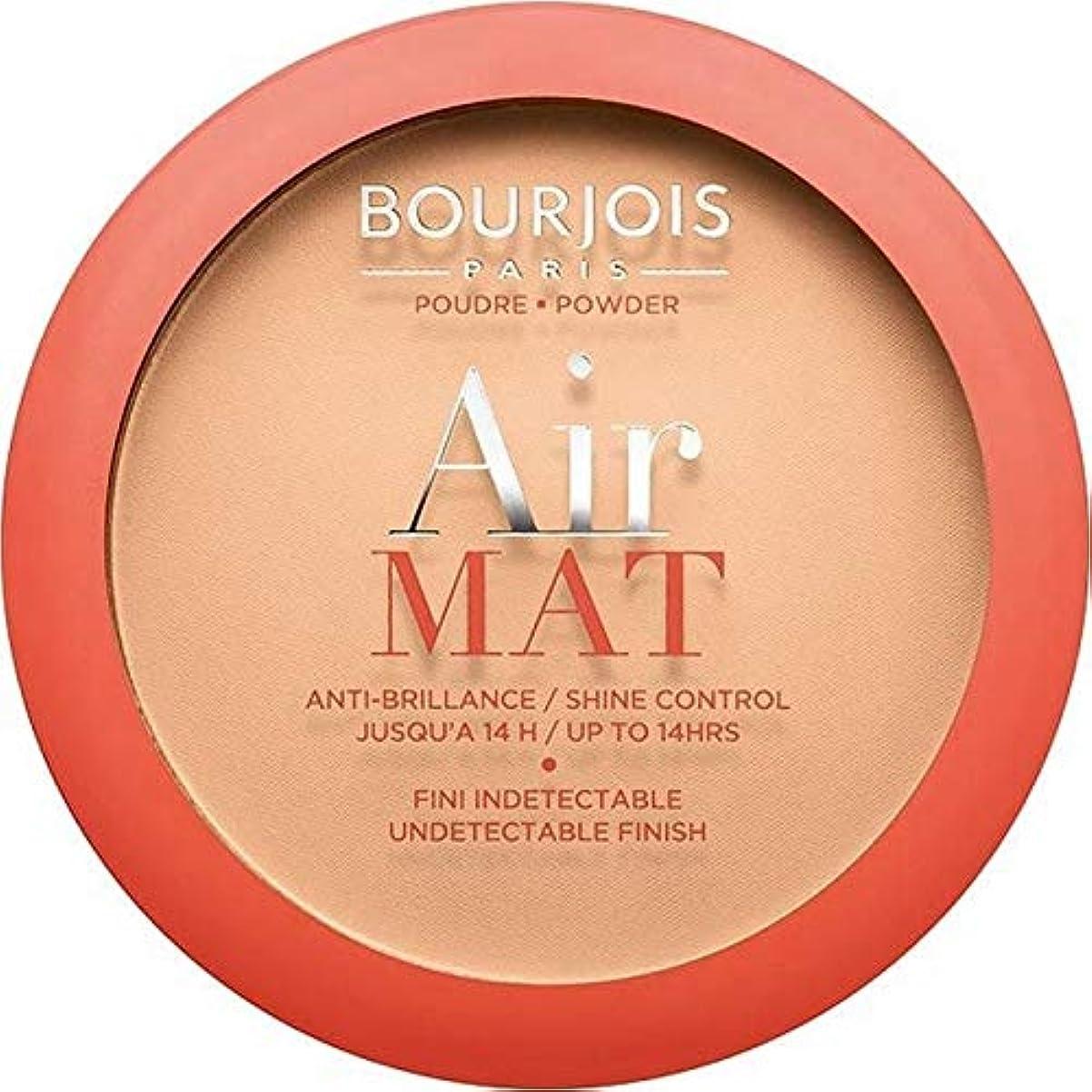 シェード内向きアーサーコナンドイル[Bourjois ] ブルジョワエアーマットは、粉末を押す - アプリコットベージュ - Bourjois Air Mat Pressed Powder - Apricot Beige [並行輸入品]