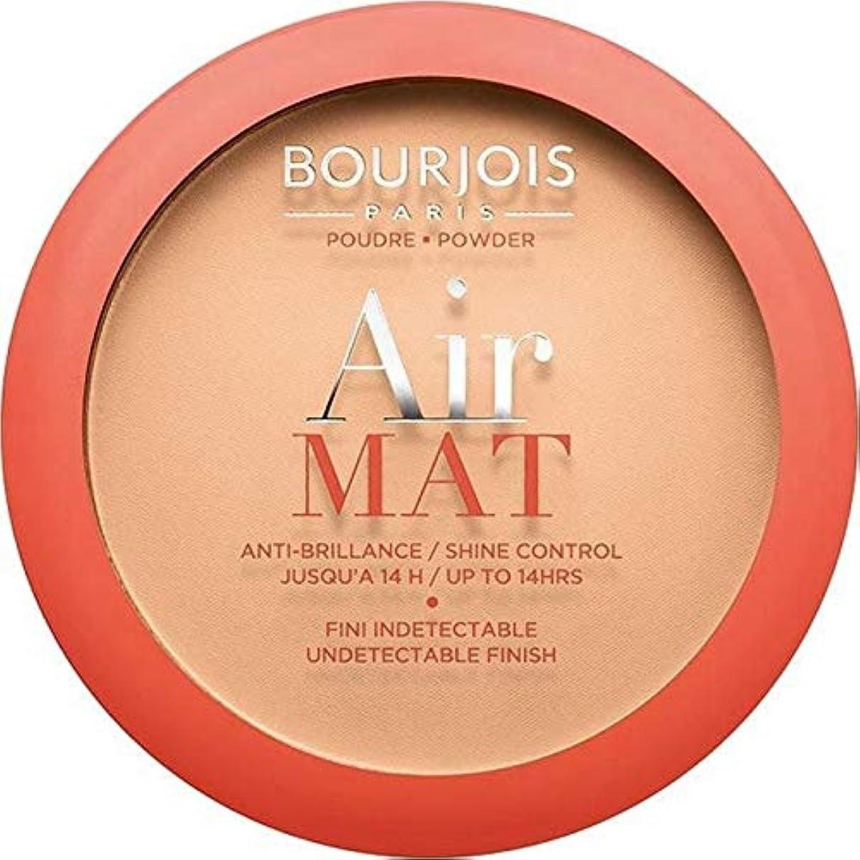 ポーズ音節アジャ[Bourjois ] ブルジョワエアーマットは、粉末を押す - アプリコットベージュ - Bourjois Air Mat Pressed Powder - Apricot Beige [並行輸入品]