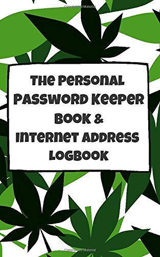 The Personal Password Keeper Book & Internet Address Logbook: The Most Convenient Alphabetical Password Journal (Password ...