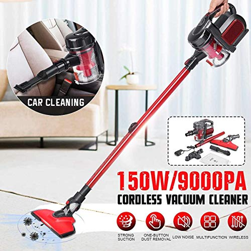 Buy Discount HUOGUOYIN Wireless Vacuum Cleaner Vacuum Cleaner Cordless Stick Vacuum Power Suction 15...