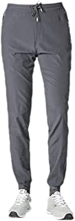Mogogo Mens Outdoor Quick Dry Casual Middle Waist Sports Running Trousers