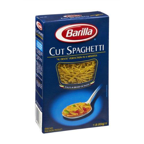 Barilla Cut Spaghetti Pasta 16 oz