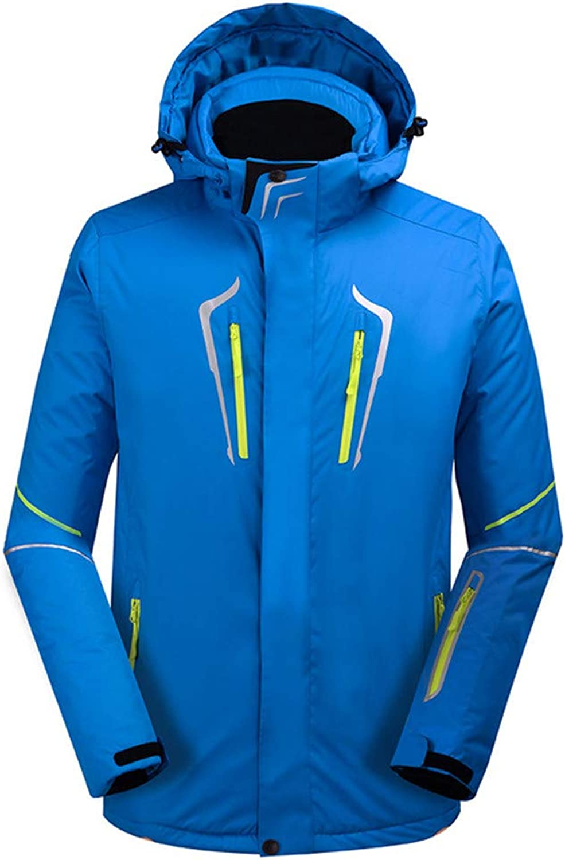 Men's Ski Jacket Windproof, Waterproof, Thermal Warm Ski Snowboard   Winter Sports Polyester Winter Jacket Ski Wear