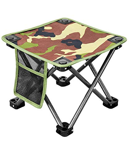 KingCamp アウトドアチェア 折りたたみ椅子 超軽量コンパクト(耐荷重150kg) 持ち運び便利 サイドに収納バッグ付き キャンプチェアイス お釣り 登山 ビーチ ハイキングなど対応