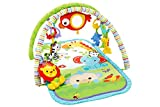 fisher-price- rey leon musical animalitos, gimnasios bebe, multicolor, 52.8 x 40.9 x 7.1 (mattel chp85)