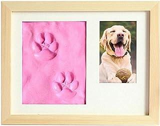 WNGGADH Cadre photo pour chien ou chat - Décoration de chambre à coucher - Rose