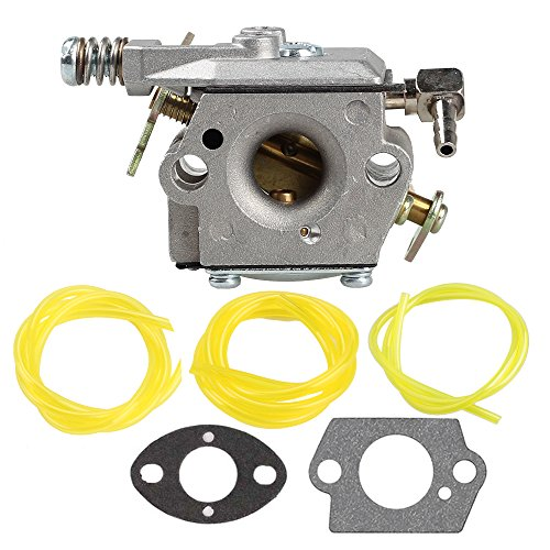 Anzac 640347 640347A Carburetor for Tecumseh TM049XA 2 Cycle Vertical Engine with Three Fuel Lines