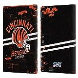 Head Case Designs Licenciado Oficialmente NFL Casco Distressed Look 100th Cincinnati Bengals Logo Ar...
