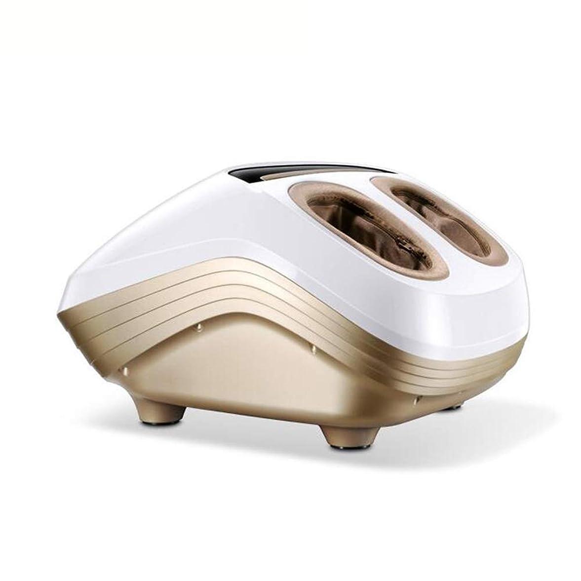 適用済み荒涼とした徒歩でJIAYUAN マッサージクッション フットマッサージャー、熱機能付き電動指圧フットマッサージ機、調整可能な強度、空気圧、深部3D混練ローリング振動は足底筋膜炎を緩和します