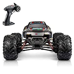 ✅【1:10 Large Scale Size & 4 Wheels Drive 】--- 1:10 Scale big size and full proportional super-fast rc offroad car,the four wheels consist of bouncing spring materials which give support to unexpected dropping and the unstable surface of the ground, m...