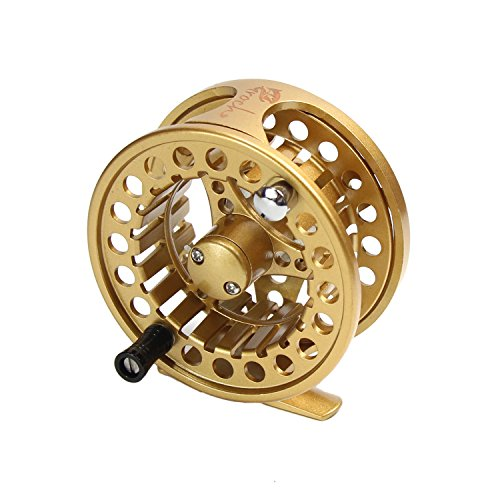 Croch Fly Fishing Reel with CNC-machined Aluminum...