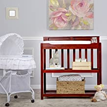 Dream On Me Zoey 3 in 1 Convertible Changing Table in Cherry