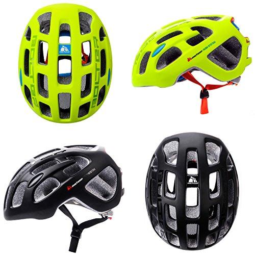 meteor® Bolter - Casco de bicicleta para hombre y mujer, casco para bicicleta de montaña, patinaje en línea, BMX, scooter, niño