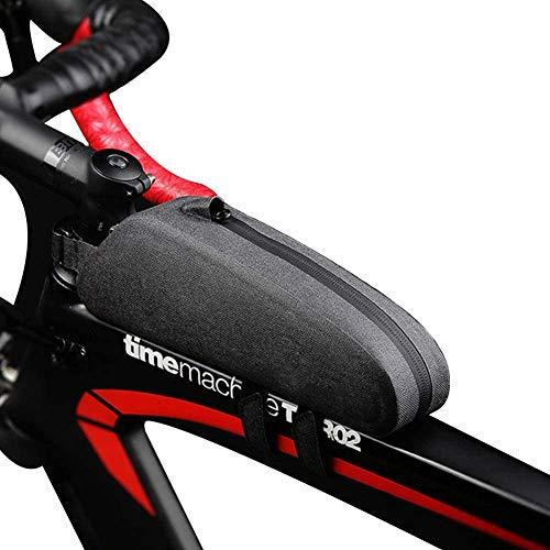 ZHENAO Impermeable Bici Bolsa Mtb Bolso Del Marco Ligero Bolsas de Ciclismo Resistente a la Presión Telefono Bolsa Bolsa de Marco de Bicicleta Accesorios Adecuado para Hombres Y Muj