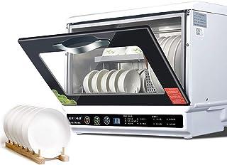 WWXY Lavavajillas compactos portátiles Máquina lavaplatos, 8 programas: intensivo, Normal, Eco, Vidrio, 90 Minutos, rápido, Fruta, autolavado, Pantalla LED
