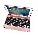 QiuKui Tab Coques pour iPad Pro 9.7, Nouveau boîtier du Clavier Bluetooth AB ABS ABS A1674 A1674...