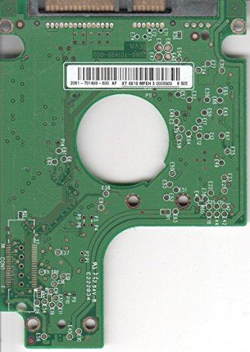 WD1200BEVS-08US, 2061-701499-600 AF, WD SATA 2.5 Leiterplatte (PCB)