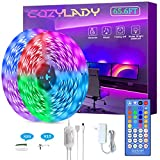 Cozylady LED Strip Lights 65.6Ft Controlled by Remote