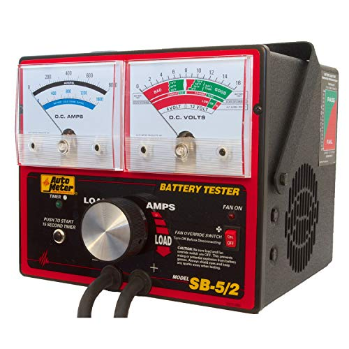 Auto Meter (SB-5/2) 800 Amp Variable Load Battery/Electrical System Tester