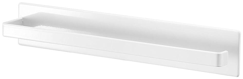 貧困簡潔なお願いします山崎実業(Yamazaki) マグネットバスルームタオルハンガー ホワイト 約W28XH4.5XD5cm ミスト バスルーム 浴室 収納 4231