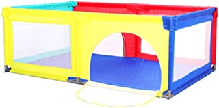 XHJYWL Playpen Portable Children s Playard Indoor and Outdoor  Baby House Play Space for Children Infant  120x190x70cm   color Multicolor