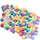 Kevenz 60-Pack Ping Pong Balls, Assorted Color Table Tennis Balls, Multi-Color Beer Pong Balls for Beer Pong Games, Arts and Craft, Party Decoration and Pet Toy