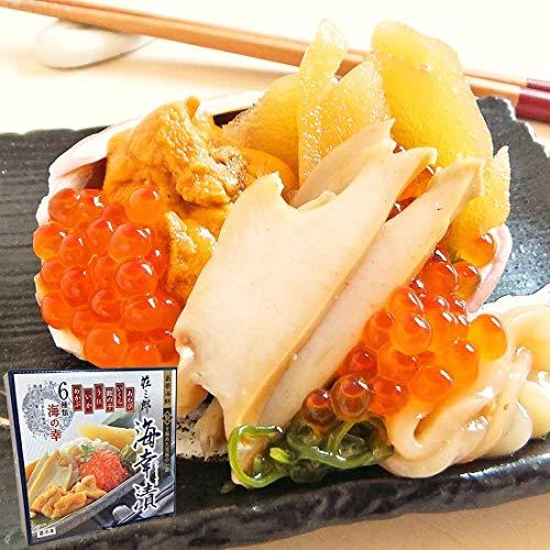 イカ屋荘三郎 専用化粧箱入 豪華 海鮮6種の海幸漬180g お取り寄せ ギフト グルメ ヤマキ食品