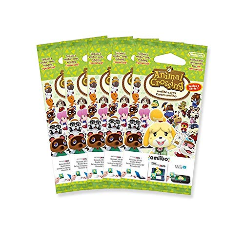 5x Amiibo Karten 3 Stück Animal Crossing Happy Home Designer Vol. 1