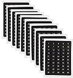 Selbstklebende nummerierte Etiketten, Aufkleber mit Nummern von 1bis 500, 2Etiketten pro Nummer, 1.000 Stück
