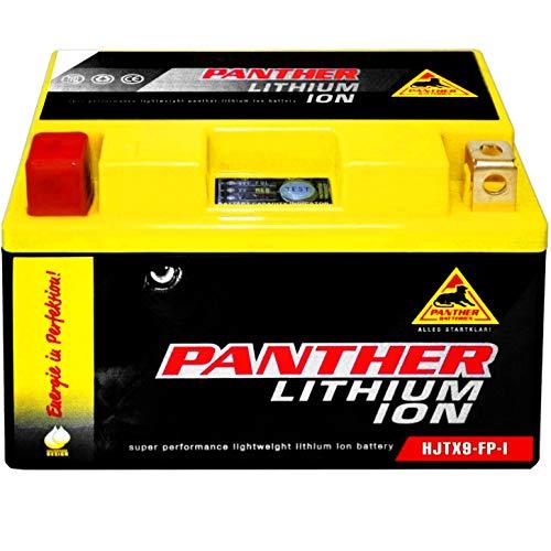 Panther YTX9-BS Lithium Motorradbatterie 12V 9Ah CTX9-BS