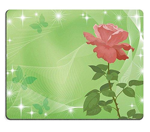 luxlady Naturkautschuk Gaming Mousepads Urlaub Hintergrund mit Blume Rose und Abstraktes Muster EPS10enthält Folien Vector Bild-ID 27443386