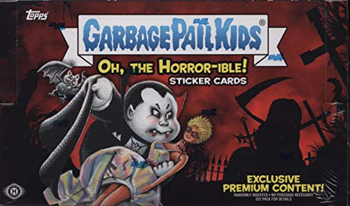 """Topps 2018 GPK Series 2 - """"Oh, The Horror-ible!"""" Collector"""