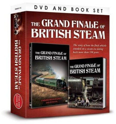 Grand Finale of British Steam (Portrait Dvdbook Gift Set)